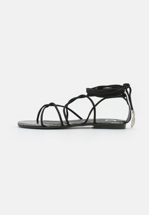 FLAT - Sandals - nero