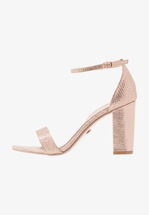 SHOWCASE SWEET VAMP  - High heeled sandals - rose gold