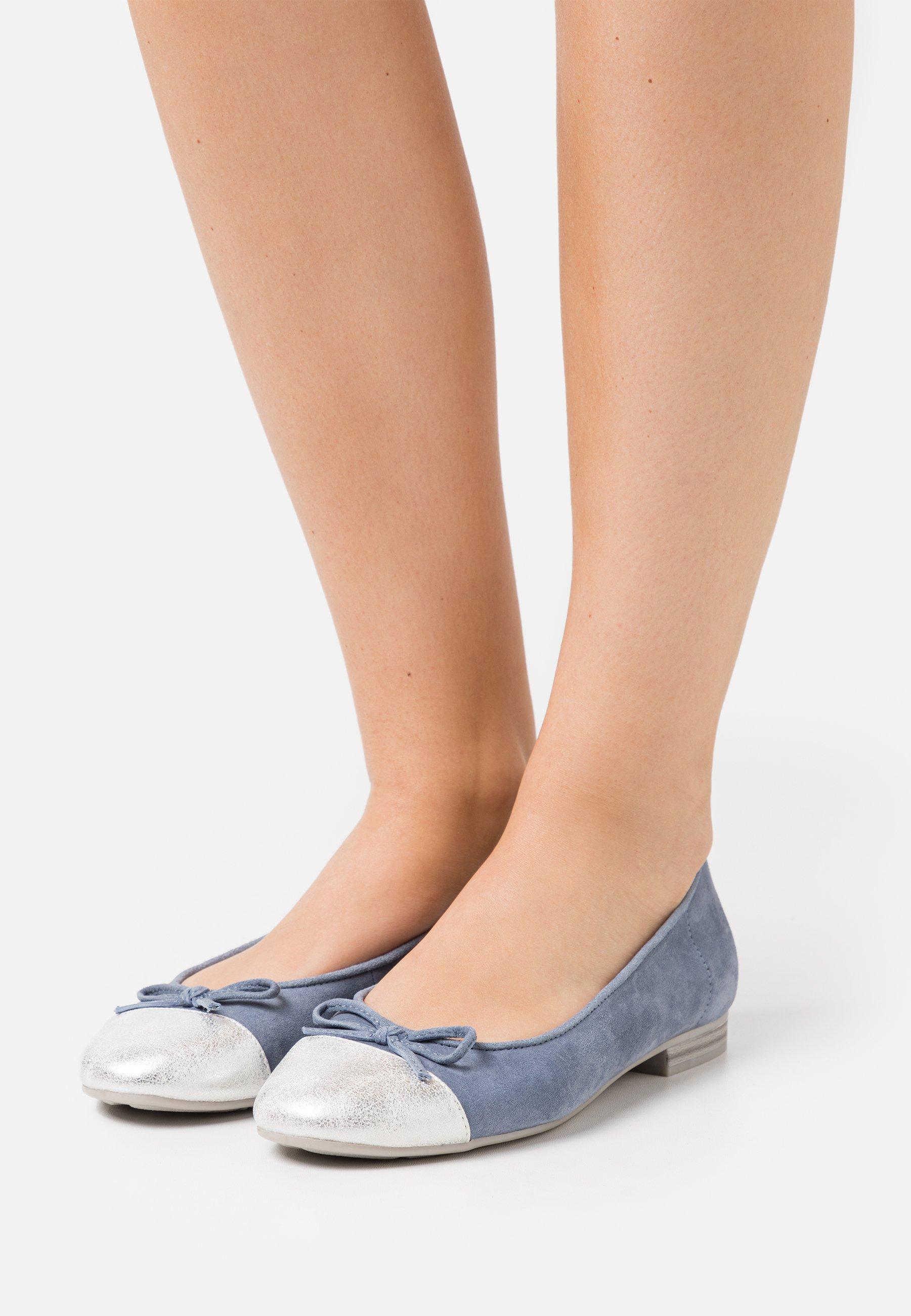 Women Ballet pumps - denim