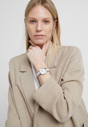 SCARLETTE - Watch - silver-coloured/weiss