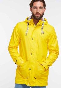 Schmuddelwedda - ANORAK - Waterproof jacket - yellow - 0