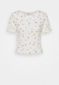 Cotton On - LITTLE SISTER POINTELLE TEE - Print T-shirt - adele daisy luna white - 4