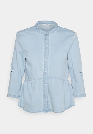 ONLCHICAGO LIFE TIGHT - Button-down blouse - light blue denim