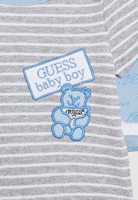 Guess - BABY 2 PACK - Body - blue stripes - 4