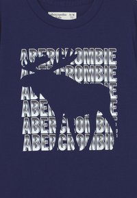 Abercrombie & Fitch - PRIMARY PRINT LOGO - Print T-shirt - navy - 2