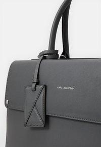 KARL LAGERFELD - IKON TOP HANDLE - Briefcase - thunder - 5