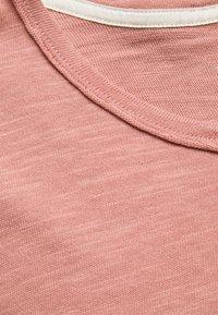 rag & bone - CLASSIC TEE FLAME - T-shirt basique - rose - 2