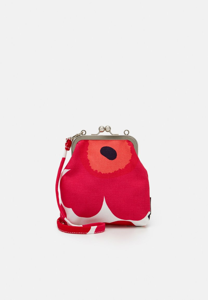 Marimekko - ROOSA PIENI UNIKKO BAG - Clutch - white/red