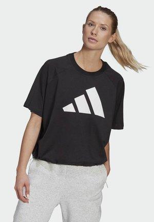 ADIDAS SPORTSWEAR ADJUSTABLE BADGE OF SPORT T-SHIRT - T-shirt print - black