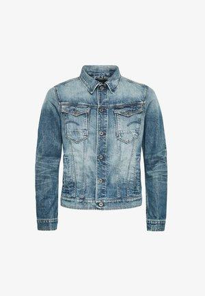 ARC 3D SLIM - Denim jacket - old faded royal blue