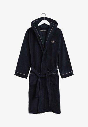 ARCHIVE SHIELD ROBE - Dressing gown - dunkelblau