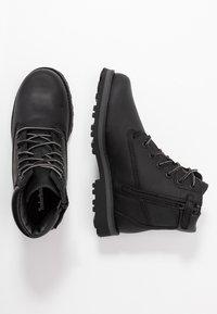Timberland - COURMA TRADITIONAL - Šněrovací kotníkové boty - black - 0