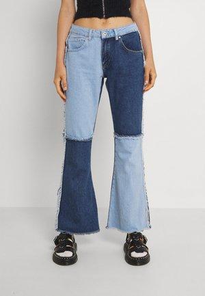 FREAK - Jeans straight leg - mix blue