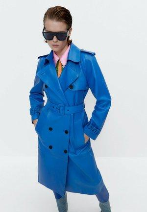 Short coat - neon blue