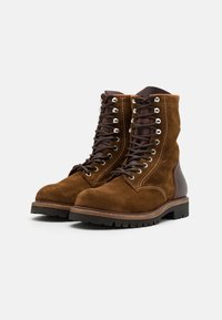 Belstaff - MARSHALL - Lace-up boots - cognac - 1
