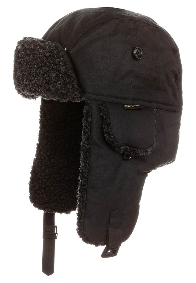 HUNTER HAT - Bonnet - black