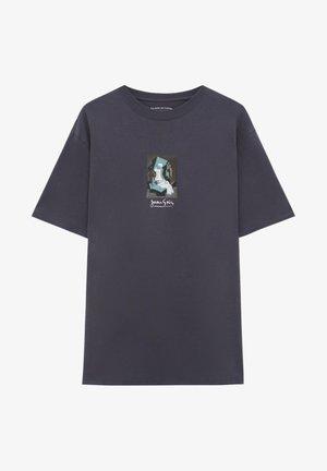 MIT WERK JUAN GRIS - T-shirt imprimé - black