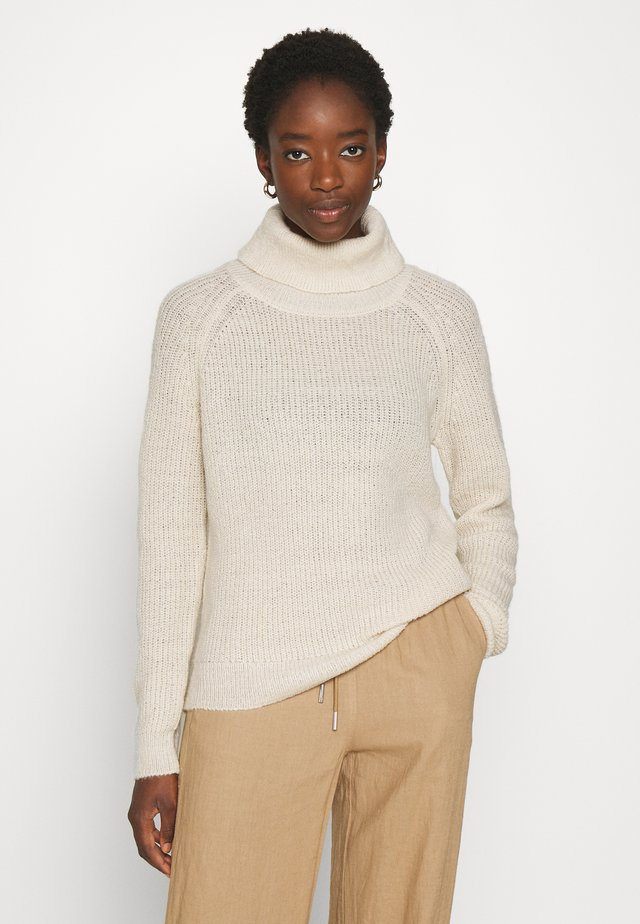 VIJUPA TURTLE NECK - Sweter - birch