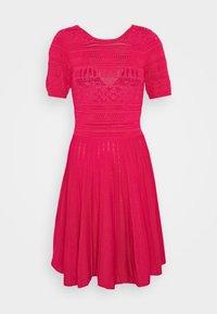 JAELLE DRESS - Jumper dress - fuchsia