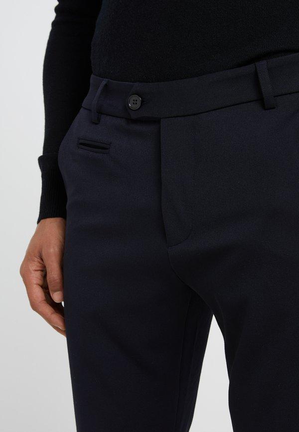 Les Deux SUIT PANTS COMO - Spodnie materiałowe - dark navy/granatowy Odzież Męska GGAQ