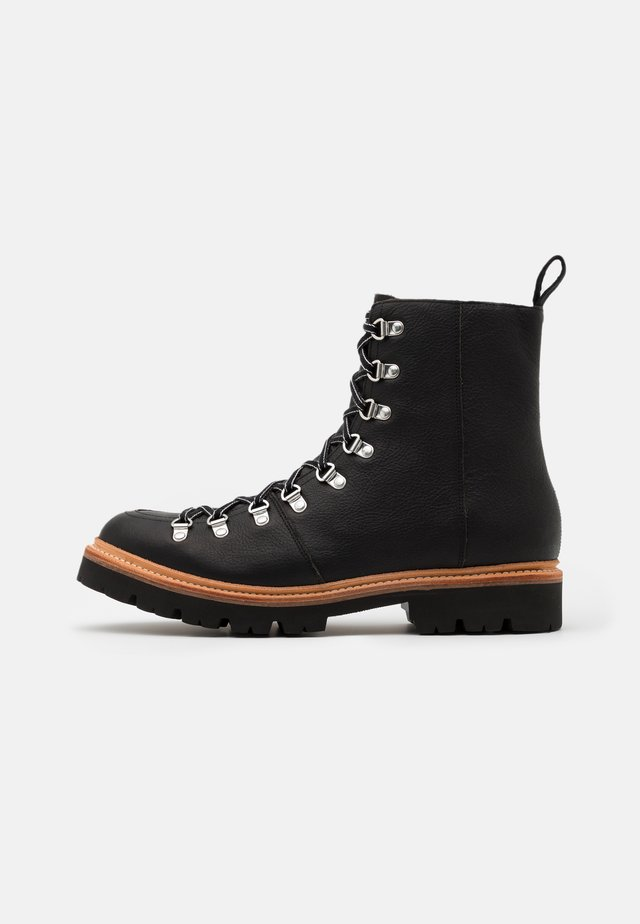BRADY - Bottines à lacets - black