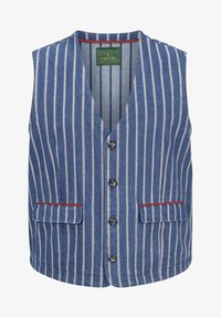 Charles Colby - Waistcoat - blau - 4