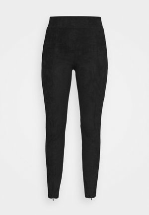 BYREGIZA SLIT - Leggings - Trousers - black