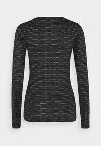 BLANCHE - COMFY LONGSLEEVE - T-shirt à manches longues - black - 1