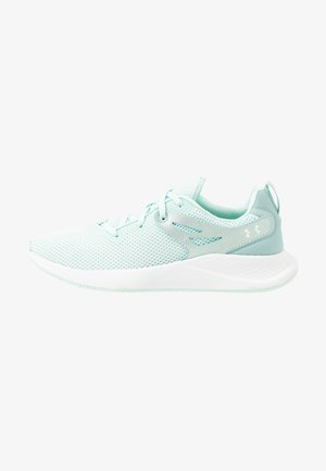 CHARGED BREATHE TR 2 - Sports shoes - seaglass blue/white