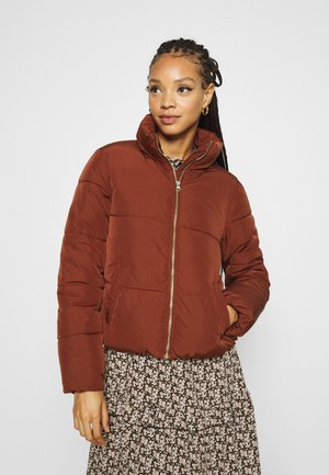 JDYNEWERICA PADDED JACKET - Winter jacket - cherry mahogany