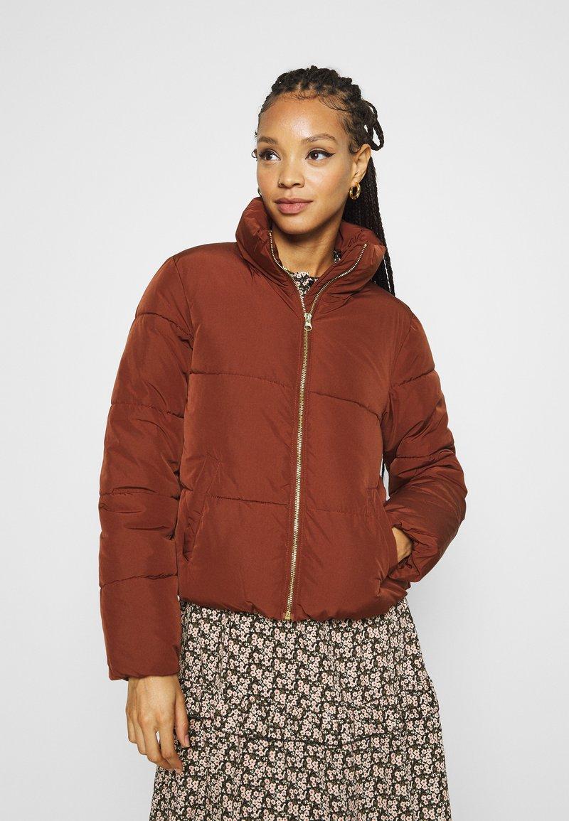 JDY - JDYNEWERICA PADDED JACKET - Winter jacket - cherry mahogany