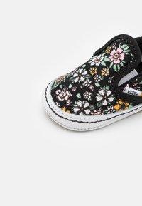 Vans - CRIB - First shoes - black/true white - 5