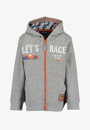 HIGH SPEED - Zip-up sweatshirt - 940 - rauch mel