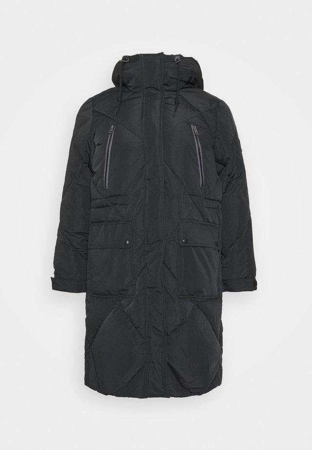 ELONGATED PUFFER - Manteau classique - black