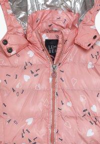 Lemon Beret - SMALL GIRLS JACKET - Winter jacket - flamingo pink - 5