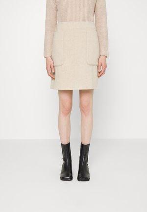 VESTLING - Mini skirt - oyster gray