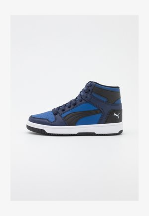 REBOUND LAYUP UNISEX - High-top trainers - limoges/black/peacoat/white