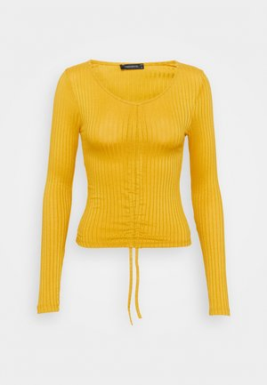 LACIVERT - Long sleeved top - mustard