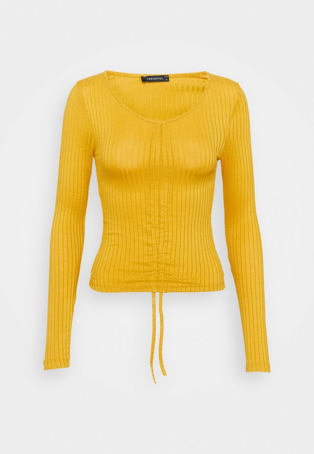 LACIVERT - Long sleeved top - mustard