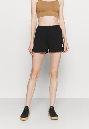MILA SHORTS WITH BINDING - Sports shorts - black