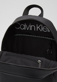 Calvin Klein - CENTRAL ROUND BACKPACK - Rucksack - black - 4