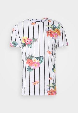 CATTLEYA - Camiseta estampada - optic white