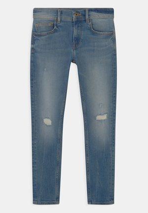 FINLY - Jeans slim fit - dark-blue denim