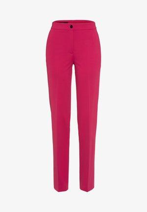Trousers - raspberry