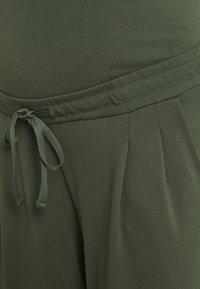 MAMALICIOUS - MLLIF PANTS - Trousers - thyme - 2