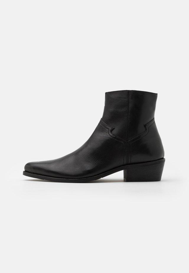 UNISEX - Cowboy/biker ankle boot - black