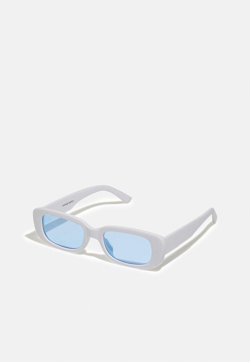 Vintage Supply - UNISEX - Sunglasses - white/blue