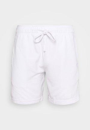 LOUNGE BOTTOM OTTOMAN SHORTS - Pyžamový spodní díl - white