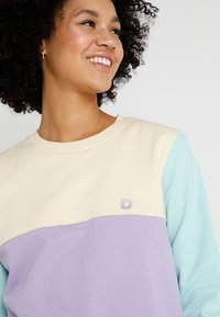 Dedicated - YSTAD SPLIT - Sweatshirt - pale yellow - 3