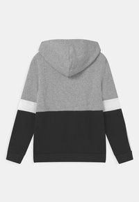 adidas Performance - COLORBLOCK ESSENTIALS - Sweat à capuche - black medium grey heather white - 1